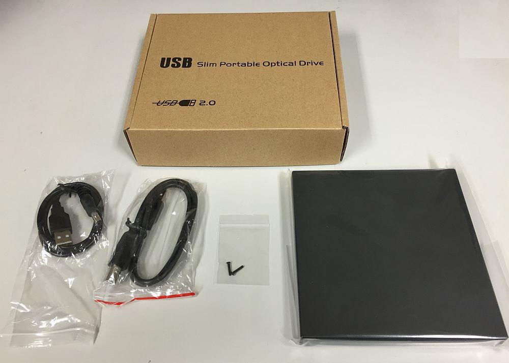 USB2.0接続 スリムドライブ用ケース [SATAドライブ専用]