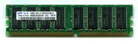 SAMSUNG ORIGINAL サムスン純正 DIMM SDRAM PC3200 DDR400 512MB