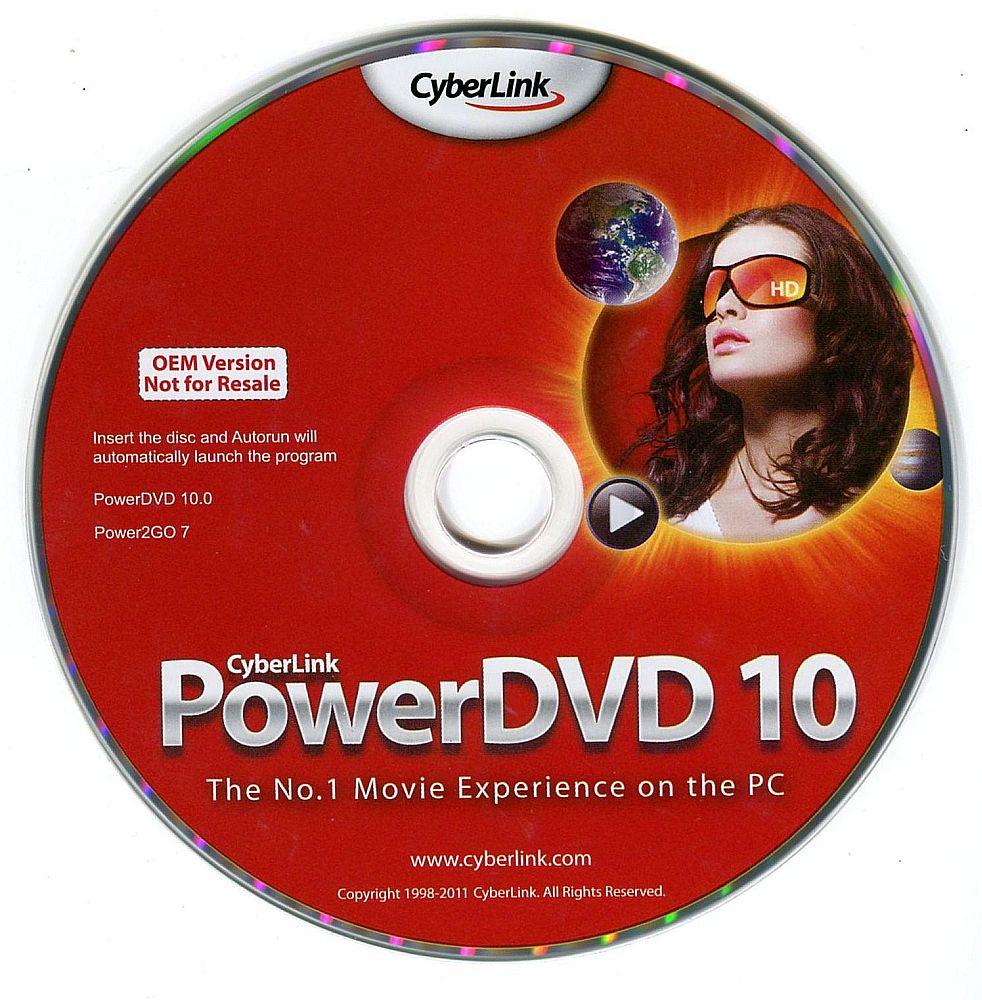 【CyberLink】DVDの再生・書込はこれ1枚でOK!PowerDVD10/Power2Go OEM版