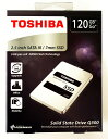 [TOSHIBA] 新品アウトレット(箱不良) 東芝 Q300シリーズ SSD 2.5inch 120GB SATA 6Gbps (読込:550MB/s 書込:...