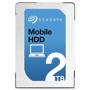 [SEAGATE]2.5inchHDD2TBSATA6GB/s5400回転7mm厚キャッシュ128GBST2000LM007