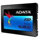 【ADATA】 256GB SSD Ultimate SU800 2.5インチ SATA 6G TLC(3D NAND) 7mm ASU800SS-256GT-...