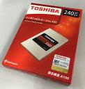 [TOSHIBA] 新品アウトレット(箱不良) 東芝 A100シリーズ SSD 2.5inch 240GB SATA 6Gbps (読込:550MB/s 書込:480MB/s) THN-S101Z2400C8 …