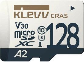 ESSENCORE KLEVV CRASシリーズ 読込100MB/s 書込80MB/s UHS-I A2 V30 U3対応 microSDXCカード 128GB K128GUSD6U3-CA Nintendo Switch 動作確認済