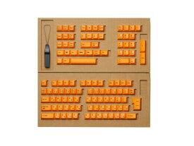 東プレ REALFORCE R2シリーズ 日本語配列 交換用カラーキートップセット(橙/オレンジ) 112キー R2-JP-KT-OR
