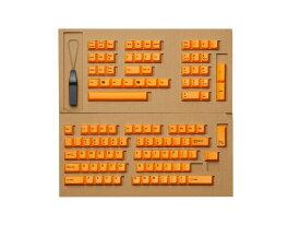 東プレ REALFORCE R2シリーズ 英語配列 交換用カラーキートップセット(橙/オレンジ) 108キー R2-US-KT-OR