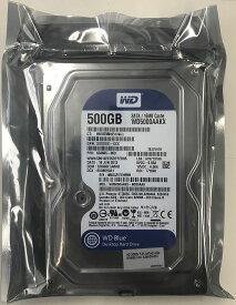 WesternDigital リファービッシュ 6ヶ月保証 ウエスタンデジタル 3.5inch HDD 500GB SATA 7200回転 512セクター(非AFT)モデル WD5000AAKX