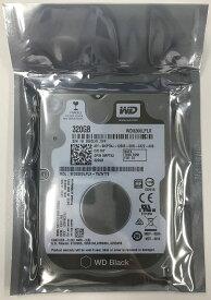 Western Digital リファービッシュ 6ヶ月保証 ウエスタンデジタル WD Black 2.5inch HDD 320GB 7200回転 32MB 7mm厚 WD3200LPLX