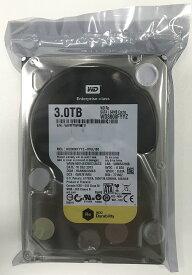 WesternDigital リファービッシュ 6ヶ月保証 ウエスタンデジタル エンタープライズ NAS サーバー用 3.5inch HDD 3TB SATA 7200回転 WD3000FYYZ