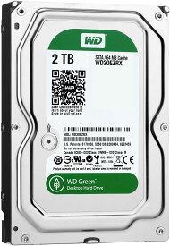 Western Digital ウエスタンデジタル WD Green 内蔵 3.5インチ HDD ハードディスク 2TB SATA IntelliPower WD20EZRX