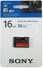Sony 最大50MB/sの高速データ転送を実現!MS-HX16B メモリースティックPRO-HG Duo 16GB 海外パッケージ USBアダプター無