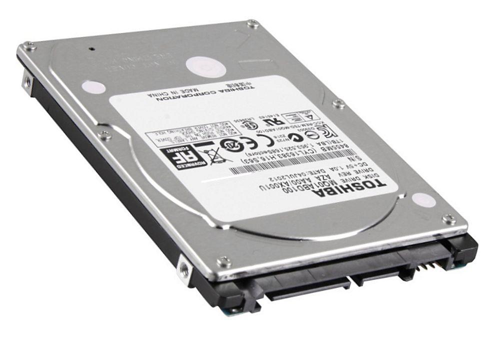 【TOSHIBA】 東芝 2.5inch HDD 1TB SATA 5400回転 4Kセクター MQ01ABD100