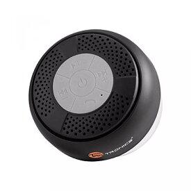 TaoTronics お風呂で音楽を楽しもう♪ スマホ・タブレット対応 吸盤式 防水 Bluetoothスピーカー TT-SK03