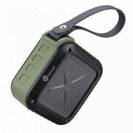 TaoTronics 耐衝撃性能、耐久性や音質重視の設計でアウトドアに最適!15時間連続再生 防水仕様(IPX5) Bluetooth ワイヤレスステレオスピーカー TT-SK08