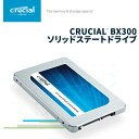 Crucial [Micron製] 内蔵SSD 2.5インチ BX300 120GB (3D MLC NAND /SATA 6Gbps) CT120BX300SSD1