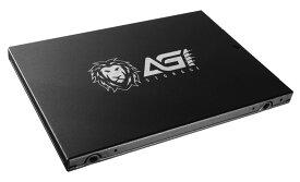 AGI AGILITY AI178シリーズ 2.5inch SATA 6Gb/s Intel 3D TLC NAND搭載 SSD 960GB (R:560MB/s W:525MB/s) AGI960G17AI178 3年保証