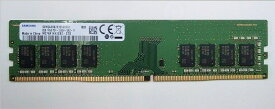 SAMSUNG ORIGINAL サムスン純正 PC4-21300 DDR4-2666 8GB (1024Mx8) デスクトップ用 288pin Unbuffered DIMM M378A1K43CB2-CTD バルク品