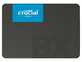 Crucial Micron製 内蔵SSD 2.5インチ BX500 240GB (3D NAND /SATA 6Gbps) CT240BX500SSD1