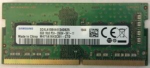 SAMSUNGORIGINALサムスン純正PC4-21300DDR4-26668GB(1024Mx8)ノートPC用260pinUnbufferedSO-DIMMM471A1K43CB1-CTDバルク品