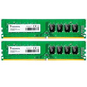 ADATAエーデータPC4-21300DDR4-266616GB(8GBx2)デスクトップ用288pinUnbufferedDIMM1.2VAD4U266638G19-D