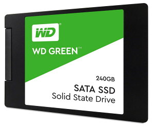 WesternDigital(ウエスタンデジタル)WDGreen240GB2.5インチ内蔵SSD7mmSATA36GB/sSLCキャッシュ搭載WDS240G2G0AA3年保証