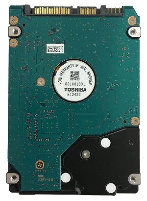 TOSHIBA東芝2.5inchSATAHDD500GB5400回転512セクター(非AFT)MK5076GSX