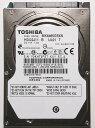 TOSHIBA 東芝 512セクター 非AFT 2.5inch SATA 3Gb/s 640GB HDD 8MB 5400rpm 9.5mm MK6465GSXN