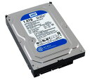 Western Digital HDD 内蔵ハードディスク 3.5インチ 1TB WD Blue WD10EZEX SATA6.0Gb/s 7200rpm 64MB