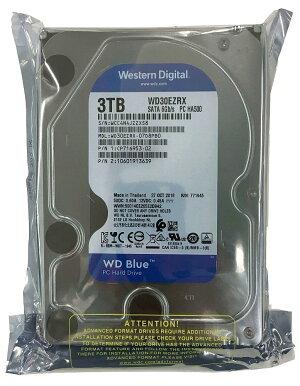 WesternDigitalHDD内蔵ハードディスク3.5インチ3TBWDBlueWD30EZRXSATA6.0Gb/sInteliPower64MB