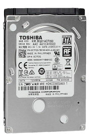 TOSHIBA 東芝 2.5inch HDD 500GB SATA 7mm厚 7200回転 16MB MQ01ACF050