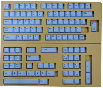 REALFORCE104/87 color key top full replacement array set (blue) XF0100-KT2
