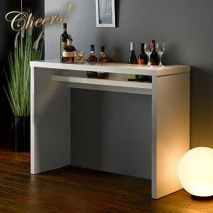 カウンターテーブル 幅120cm 高さ90cm バーテーブル バーカウンターテーブル テーブル おうちバー おうちカフェ 単品 おしゃれ 高級感 rd-t8630 ホワイト ブラウン ラグジュアリー エレガント 大