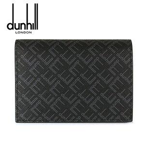 【dunhill】ダンヒル カードケース 名刺入れ メンズ シグネチャー ブラック 21R2470LT001R