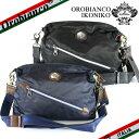 【OROBIANCO】オロビアンコ IKONIKO ショルダーバッグ  ≪斜めがけバック≫ バッグ NYLON/DOLLARO ブラック/ブルー