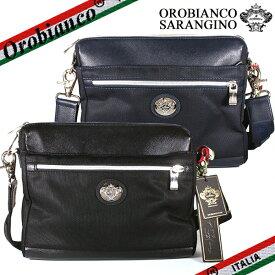 【Orobianco】オロビアンコ SARANGINO-C TEKNICO サランジーノ レザー ショルダーバッグ クラッチバッグ