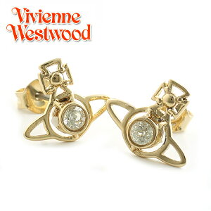 【Vivienne Westwood】ヴィヴィアンウエストウッド ピアス ノーラ スタッド イヤリング イエローゴールド×イエロー 3475【あす楽対応】【送料無料】