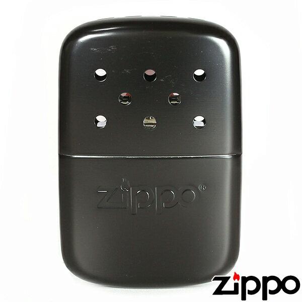 【Zippo】ジッポー ハンドウォーマー オイル充填式カイロ アウトドアライン エコカイロ マットブラック 40334 ハンディーウォーマー