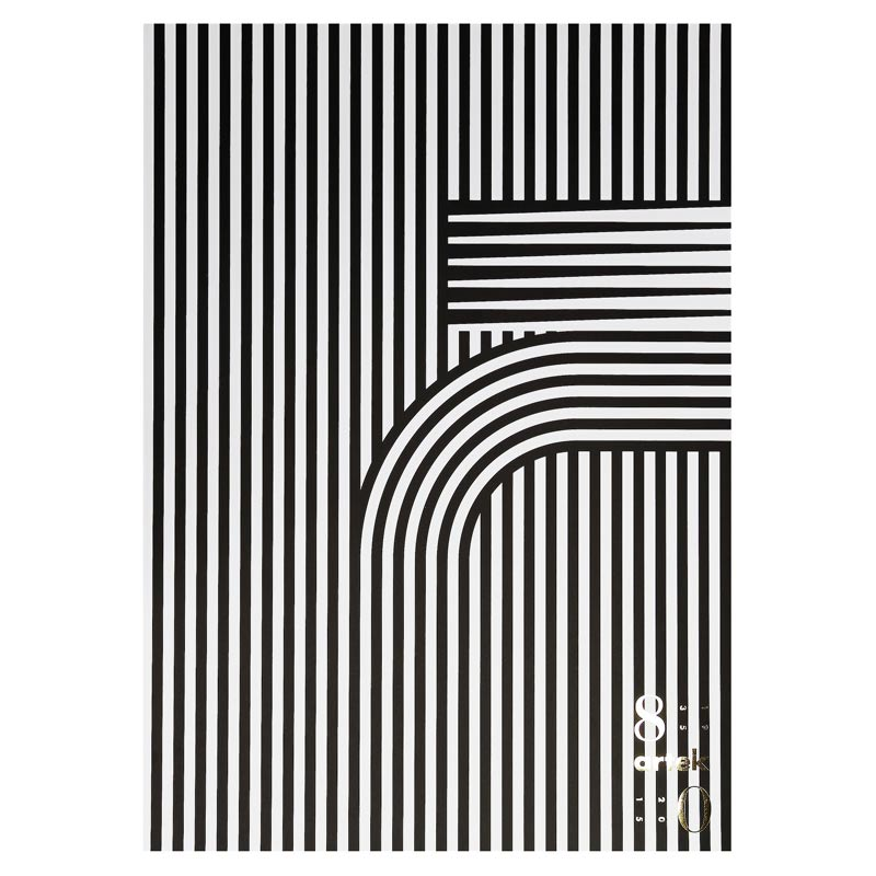 ポスター 50×70cm artek (アルテック) 80周年【北欧 インテリア 雑貨 artek アルテック 80周年】