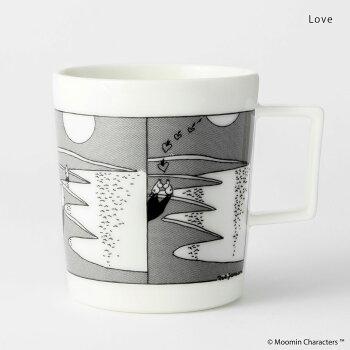 北欧ムーミンマグVAJAFinlandムーミンマグカップ400mlオシャレなムーミンコミックをデザインFriendshipLoveLifeフィンランドカップスープマグプレゼントギフトかわいい箱付磁器ブックマーカー付
