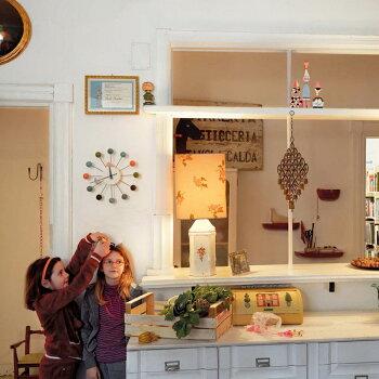 【予約販売】vitra(ヴィトラ)ボールクロック時計ジョージ・ネルソンデザインウォールクロックおしゃれな北欧デザインの壁掛け時計