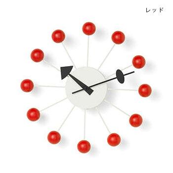 【送料無料】vitraボールクロック時計ジョージ・ネルソンデザインウォールクロック【北欧リビングインテリア北欧雑貨】