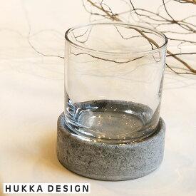 HUKKA DESIGN(フッカデザイン)ストーン グラス&コースターセット 天然石 カレリアンソープストーン 温度をキープ おしゃれな北欧雑貨 フィンランド 保温・保冷効果グラス プレゼント ギフトに お酒グラス 優れた耐水性