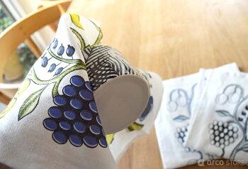 KUOVIクオヴィ北欧テキスタイルキッチンタオルオーチャード柄サンデーモーニング柄食器タオル