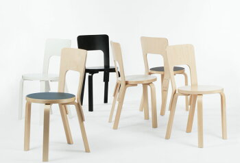 【送料無料】予約販売artek(アルテック)キャリーアウェイチェア66バーチ北欧デザイン家具フィンランド製家具人気おしゃれ椅子スツールインテリア機能性アルヴァ・アアルト
