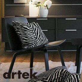 Artek(アルテック)クッションカバー 40x40cm (小) ゼブラ BK/WH インテリア テクスタイル 枕 ピローケース 北欧雑貨 部屋作り おしゃれな北欧デザイン雑貨 プレゼント ギフト 高級感