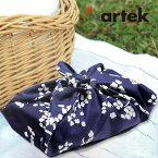 artek(アルテック)日本限定KIRSIKANKUKKA風呂敷50cm【北欧artekアルテックプレゼントにも人気】ナフキンお弁当