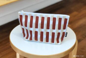 Artek(アルテック)ポーチ(S)新色入荷24x15cmSIENA北欧を代表するアアルトのデザインフィンランド雑貨化粧ポーチ小物入れプレゼントやギフトにも人気メイクポーチ便利なマチ付き
