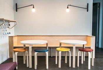 【予約販売】artek(アルテック)スツール椅子STOOL60キャリーアウェイスツール60ラッカー仕上げレッドブルーグレー