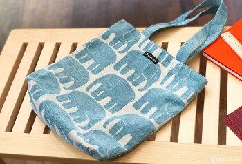 Finlayson(フィンレイソン)トートバッグマチ付きゴブラン織おしゃれな北欧デザインのバッグカバン鞄エレファンティアルマムートタイミ北欧雑貨プレゼントギフトにも人気もこもこ感高級感のある手触り