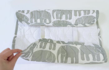 Finlayson(フィンレイソン)ピローパッド枕エレファンティブルー/グレーELEFANTTIおしゃれな北欧デザインの寝具シーツフィンランドのベッドコーディネート北欧テキスタイルプレゼントギフトにも人気さらっと爽やかなピローパッドゴム付き